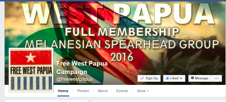Free West Papua FB PAge