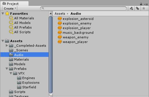 UnityAudiofilesview